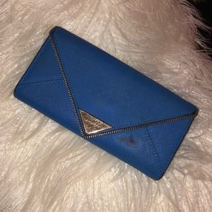 Rebecca minkoff cobalt blue wallet